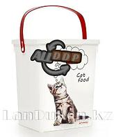 Контейнер для корма животных 5 л. кошки 49303 (003)