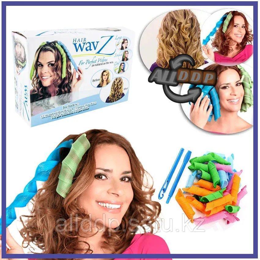 Бигуди спиралька для волос Heir Wavz 16 шт