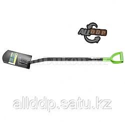 Лопата штыковая, металлический черенок, прямоугольная Россия 61612 (002)