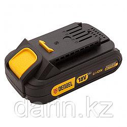 Батарея аккумуляторная IB-18-2.0, Li-Ion, 18 В, 2.0 А/ч Denzel