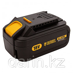 Батарея аккумуляторная IB-18-4.0, Li-Ion, 18 В, 4.0 А/ч Denzel