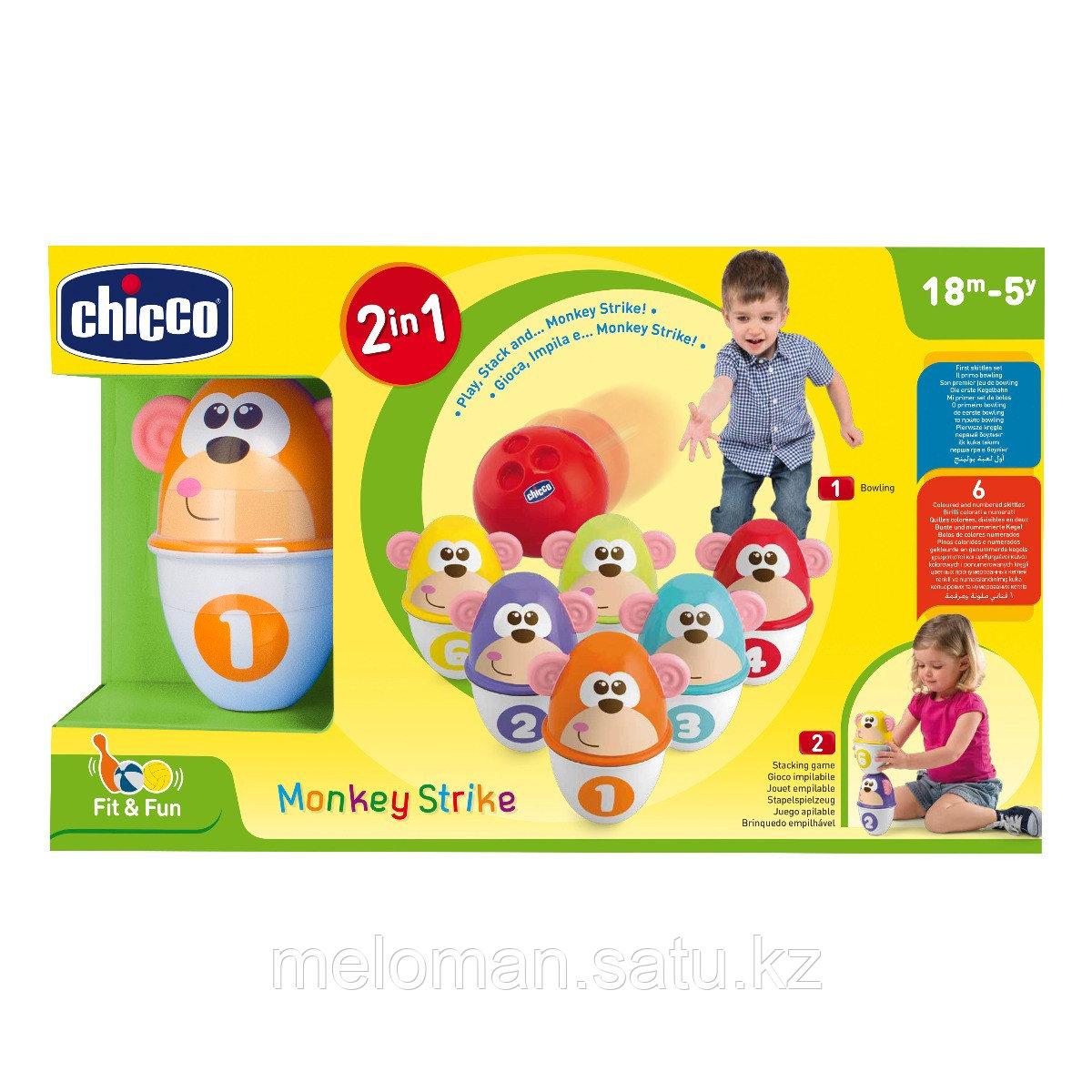 "Chicco: Боулинг Monkey Strike 2 в 1 ""Fit&Fun"", 18м+ - фото 8"