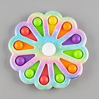 """Simple Dimple: Игрушка антистресс """"Цветок"""", разноцветный 15см"""