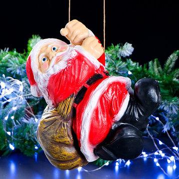 """Фигурка """"Дед Мороз висячий"""" 31х35 см"""