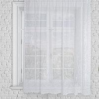 Штора без шторной ленты 210х165 см, белый