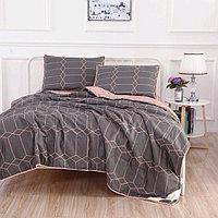 Комплект «Дарси №7»: 230 × 250 см, одеяло 160 × 220 см-2 шт, 50 × 70 см - 2 шт