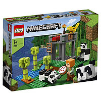 Конструктор Lego Minecraft 'Питомник панд'