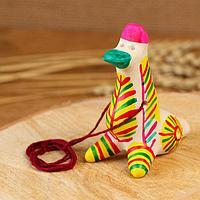 Филимоновская игрушка - свисток 'Утка'