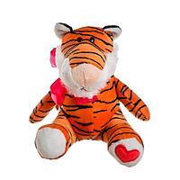 Мягкая игрушка 'Тигрёнок с бантиком', 16 см, цвета МИКС