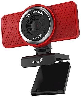 Web-камера Genius ECam 8000, 2.0Mp, FULL HD 1920х1080/30, Красный