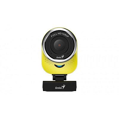 Web-камера Genius QCam 6000, 2.0Mp, FULL HD 1920х1080/30, Желтая