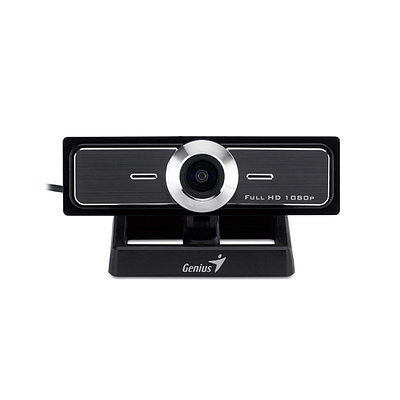 Web-камера Genius WideCam F100, 12Mp, FULL HD 1920х1080/30, Черная