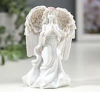 Сувенир Ангел-девушка в розовом венке - надежда