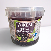 Джем ЧЕРНАЯ СМОРОДИНА ЭКО 7 дней 1000гр.