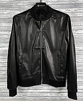 Кожаная куртка M