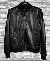 Кожаная куртка XXL