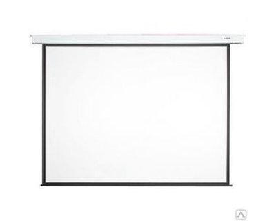 Экран моторизованный Mr.Pixel MSPSAB135V2, белый