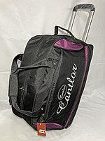 """Дорожная сумка на колесах """"Cantlor"""",с увеличением на 10 см.Высота 35 см, ширина 56 см, глубина 29 см., фото 1"""
