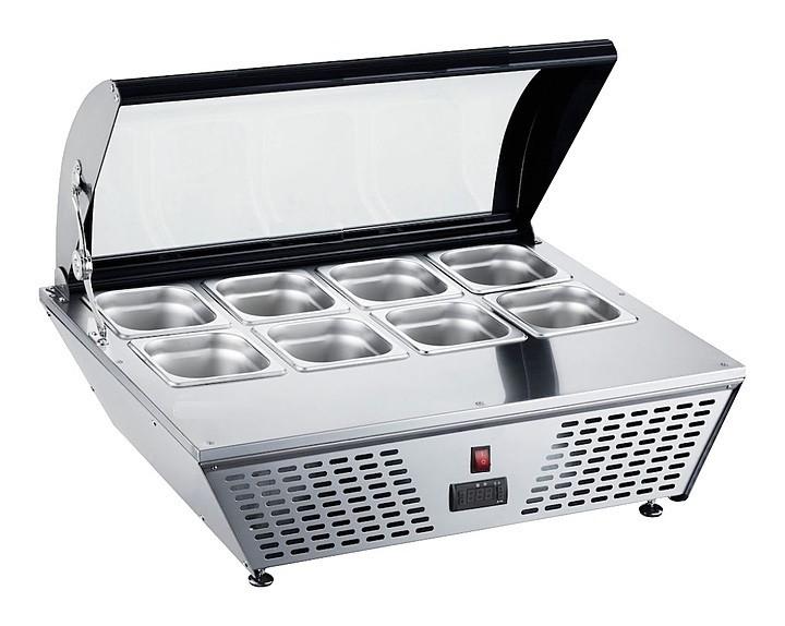 Витрина для мороженого вместимостью 8*GN1/6 Koreco RTD67L