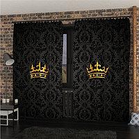 Фотошторы «Корона», размер 145 × 260 см, габардин