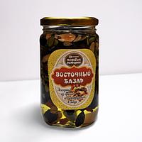 Мёд с ассорти из орехов и сухофруктов ВОСТОЧНЫЙ БАЗАР 0,450кг.