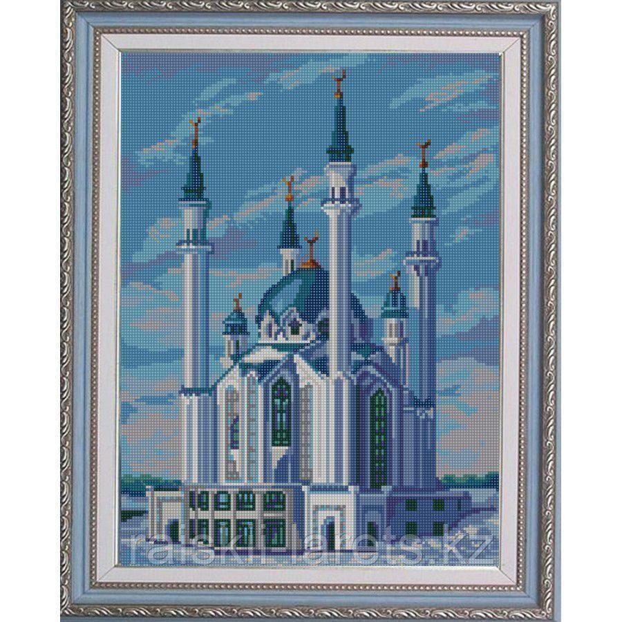 """Схема для вышивания бисером """"Мечеть Кул-Шариф"""" НИК 9667 (без бисера)"""
