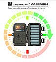 Защищенная видео-фотоловушка/охотничья камера 24Мп с супер ночным виденьем и WiFi (новинка 2021года!), фото 6