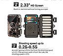 Защищенная видео-фотоловушка/охотничья камера 24Мп с супер ночным виденьем и WiFi (новинка 2021года!), фото 7