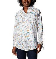 1933421-100 Рубашка женская Camp Henry II Tunic белый принт р. XS 42