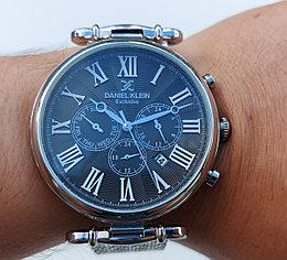 Мужские наручные часы Daniel Klein 12148-2. Миланское плетение. Гарантия. Рассрочка. Kaspi RED.