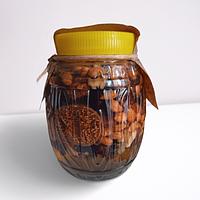 Мёд с ассорти ореховое с сухофруктами ВОСТОЧНЫЕ СЛАДОСТИ 1.5кг.