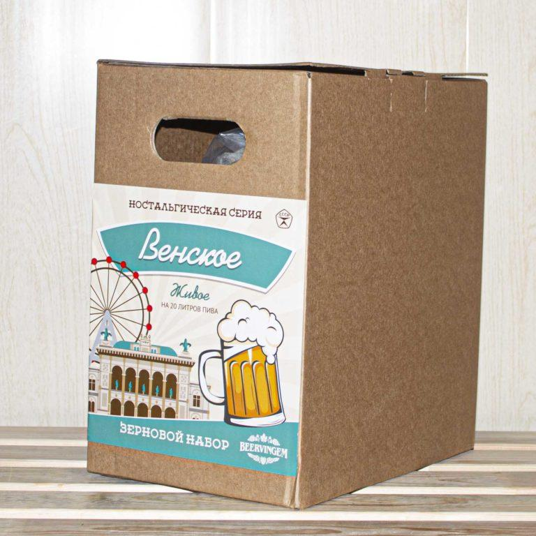 """Зерновой набор Beervingem светлое """"Венское живое"""" на 20 л пива"""