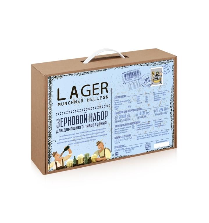 Зерновой набор BrewBox Munchner Helles Lager 5.1 кг