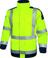 Куртка флуоресцентная желтая демисезонная