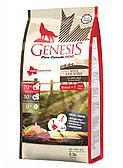 Сухой корм GENESIS PURE CANADA WIDE COUNTRY SENIOR беззерновой диетический для пожилых собак всех пород с