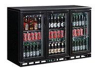 Витрина холодильная барная объемом 335 л с распашными дверьми, с 2 полками Koreco SC 315G