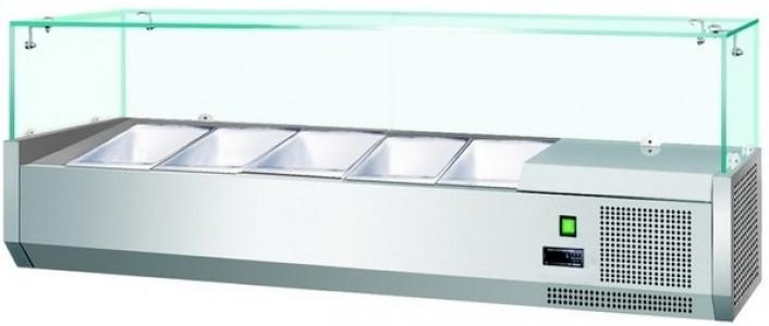 Витрина холодильная Koreco VRX1400380(395II)