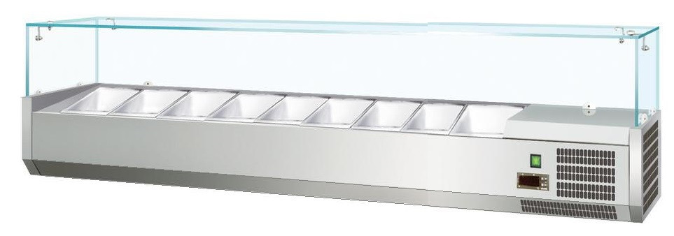 Витрина холодильная Koreco VRX2000380(395II)