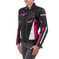 Куртка текстильная женская BONNIE, чёрный/розовый, XXS