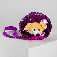 Кошелёк «Мышка», с пайетками