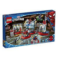 Конструктор Super Heroes Marvel «Нападение на мастерскую паука»