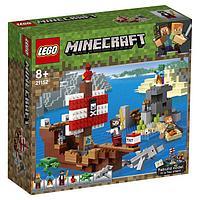 Конструктор Lego Minecraft «Приключения на пиратском корабле»