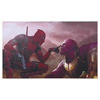 "Постер ""Дэдпул и Танос"" 100х60 см"
