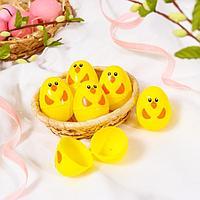 Основа для творчества «Яйцо-цыплёнок», открывается, набор 6 шт., размер 1 шт: 6 × 4 см