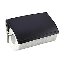 Держатель для бумажных полотенец хром FX089 Черный