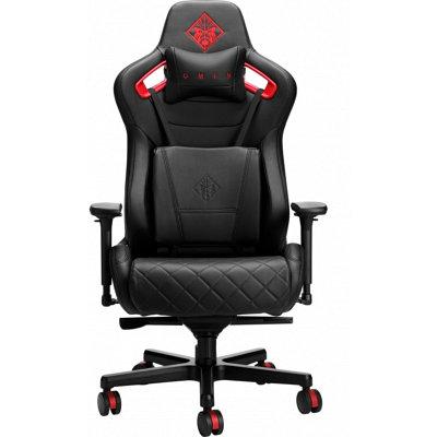 Кресло игровое компьютерное HP Omen Citadel черно - красное