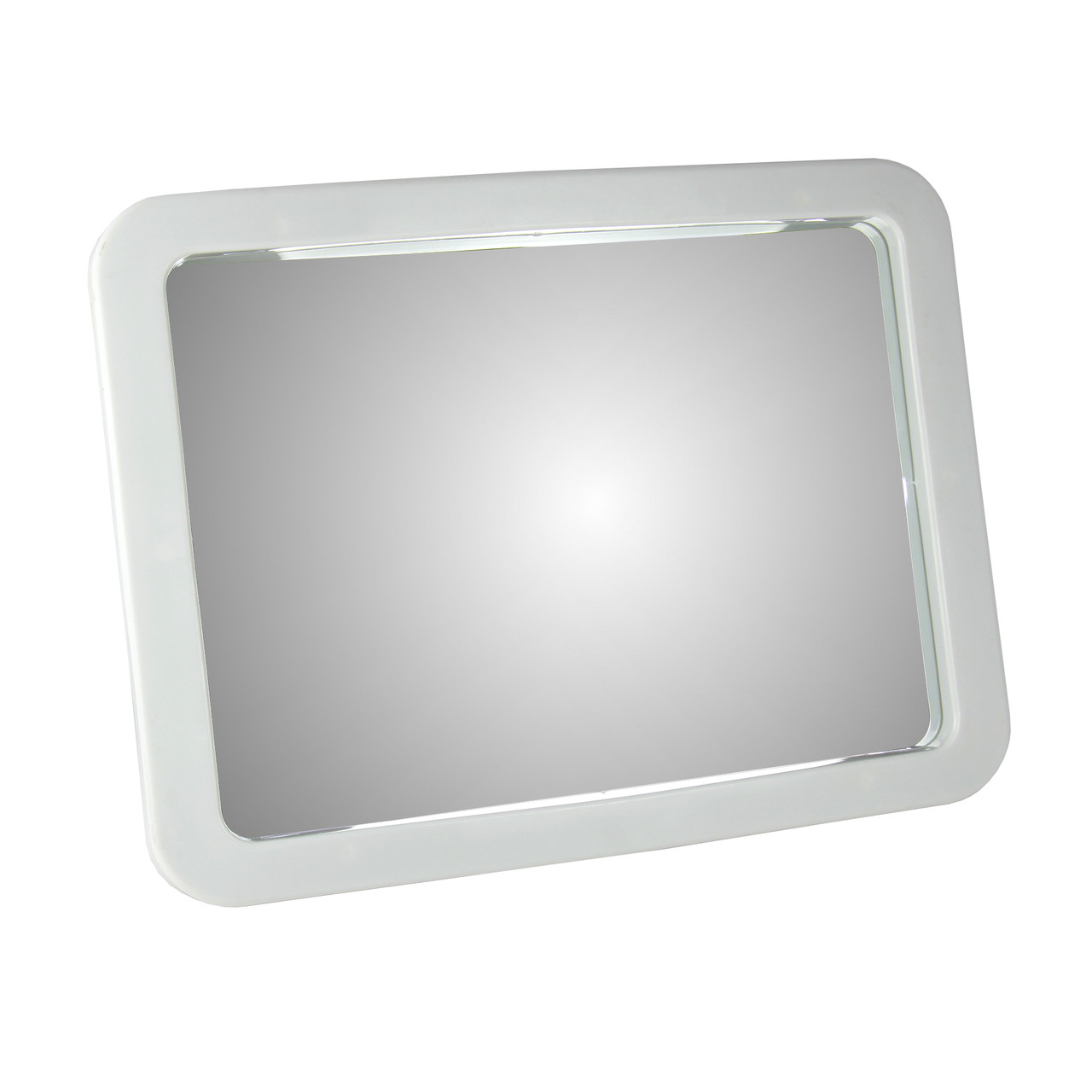 Зеркало 46х36 с пластиковой рамкой