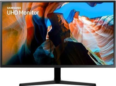 """Монитор 31.5"""" SAMSUNG U32J590UQI, Black, 3840x2160"""