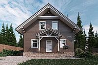 Деревянные дома из термобруса Кода 151.9 м²