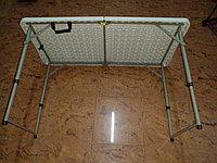 Стол для кемпинга раскладной туристический 122 × 60 × 74